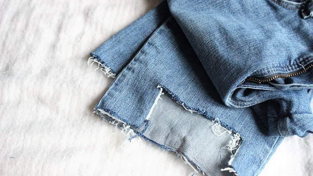 Как сделать стильные рваные джинсы своими руками: видео