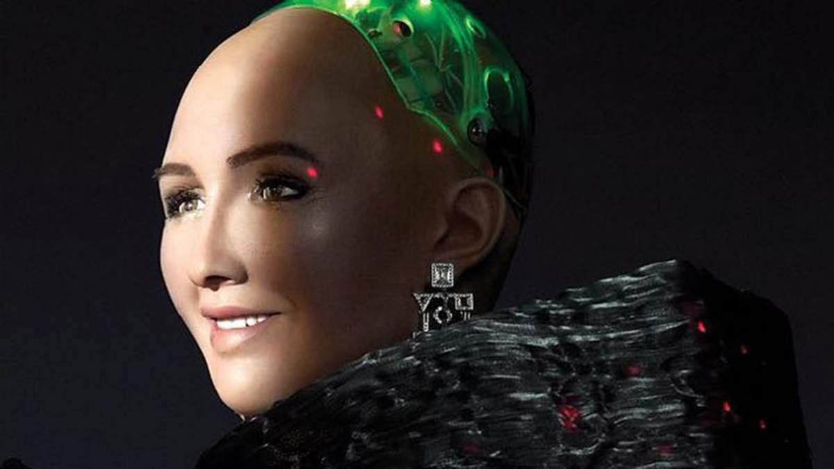 Робот София снялась для журнала Cosmopolitan: яркие фото