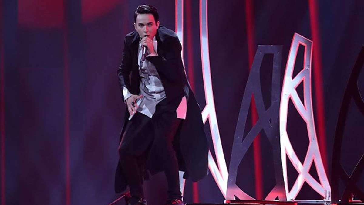 Выступление MELOVIN'а на сцене Евровидения-2018
