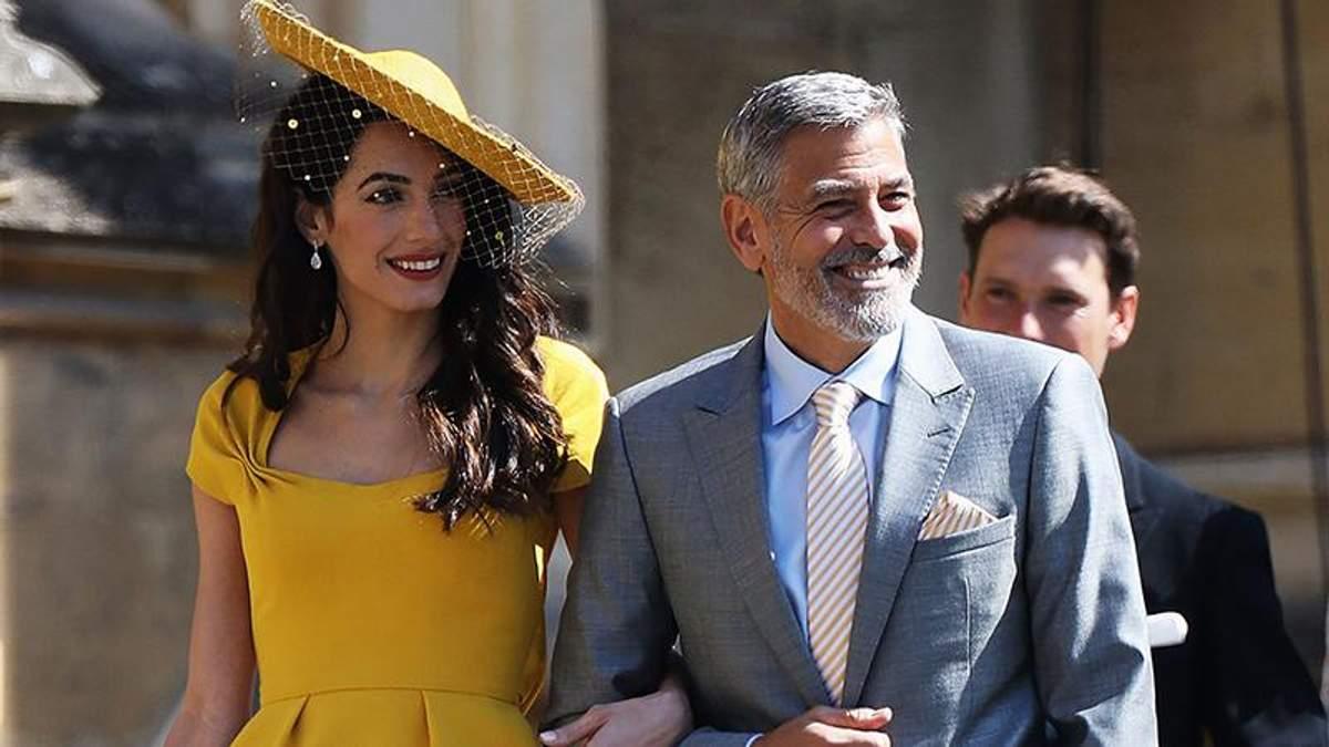 Джордж Клуні з дружиною Амаль