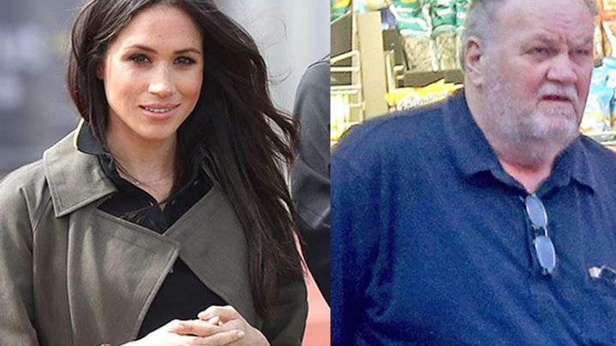 Я не просив грошей у доньки, – батько Меган Маркл розповів, на чиї кошти лікувався