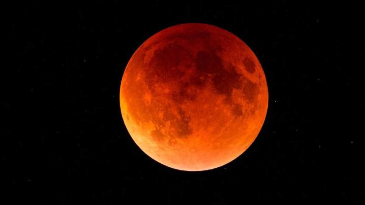 Місячне затемнення 27 липня 2018