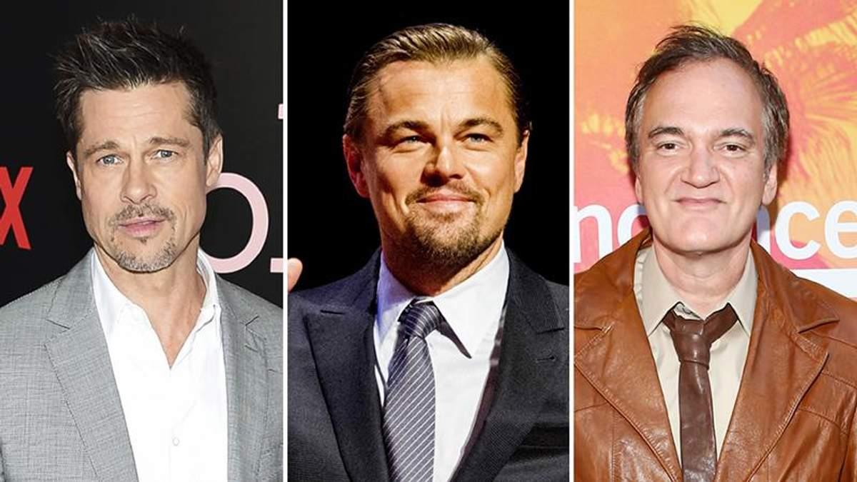 Как изменились Леонардо Ди Каприо и Брэд Питт для фильма Тарантино: первое фото