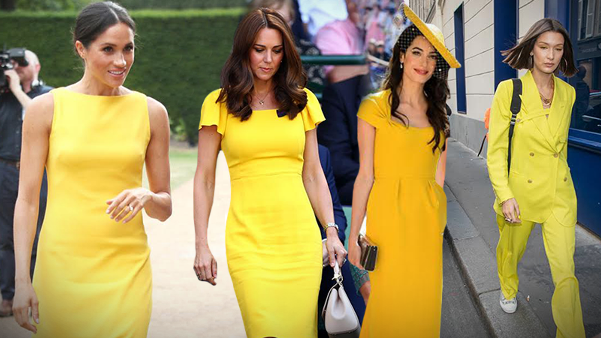 Жовтий колір – головний тренд літа 2018 року