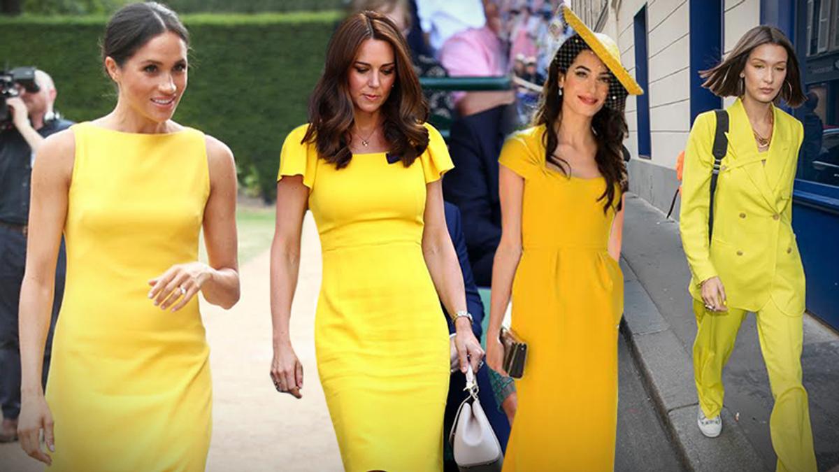 Желтый цвет – главный тренд лета 2018