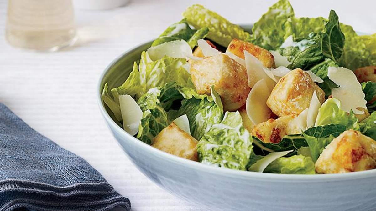 Салат Цезар - рецепт: класичний рецепт приготування салату