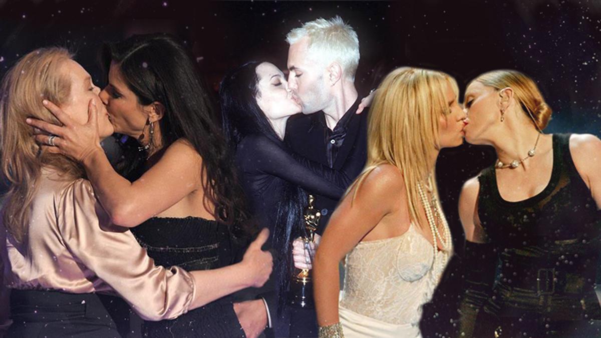 День поцілунків 2018 - Топ-7 скандальних поцілунків зірок