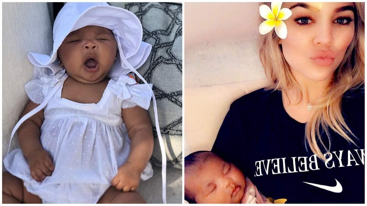 Хлої Кардашян показала чарівні фото тримісячної доньки