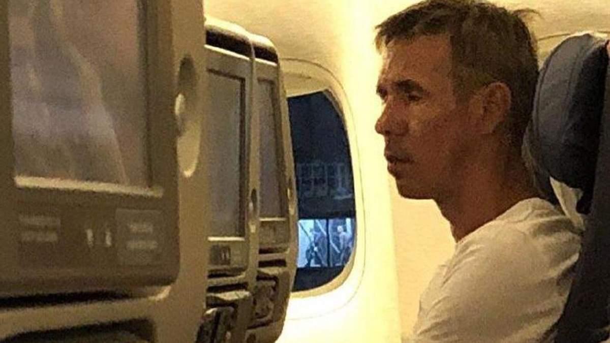 Панін влаштував п'яний дебош на борту літака в Криму
