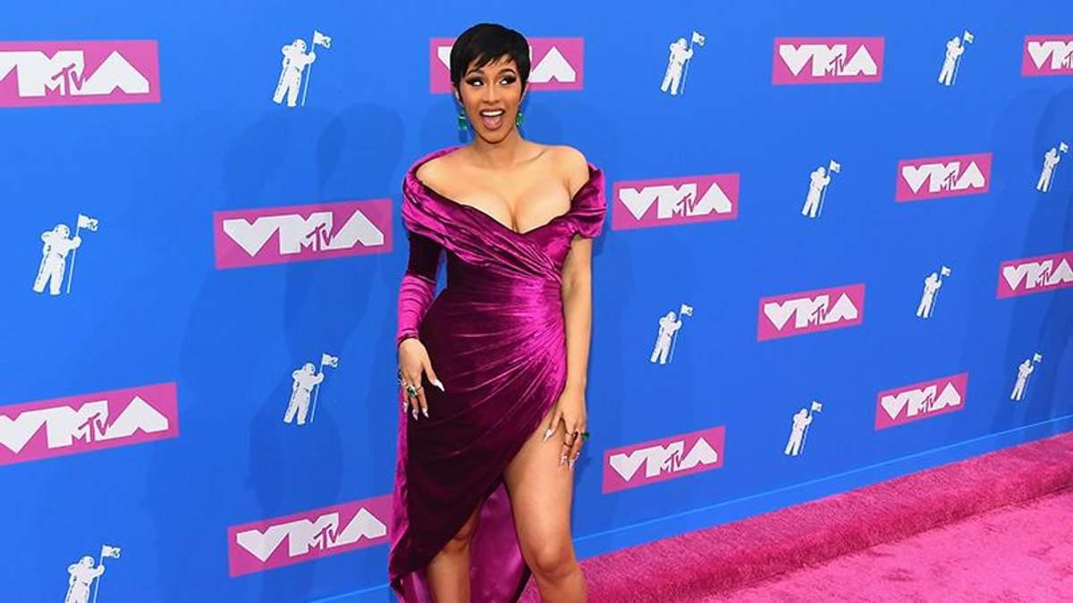 Cardi B на церемонії MTV Video Music Awards 2018