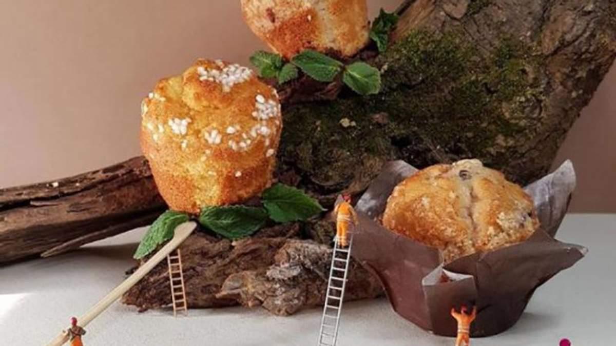 Кондитер створює міні-світ з солодощів