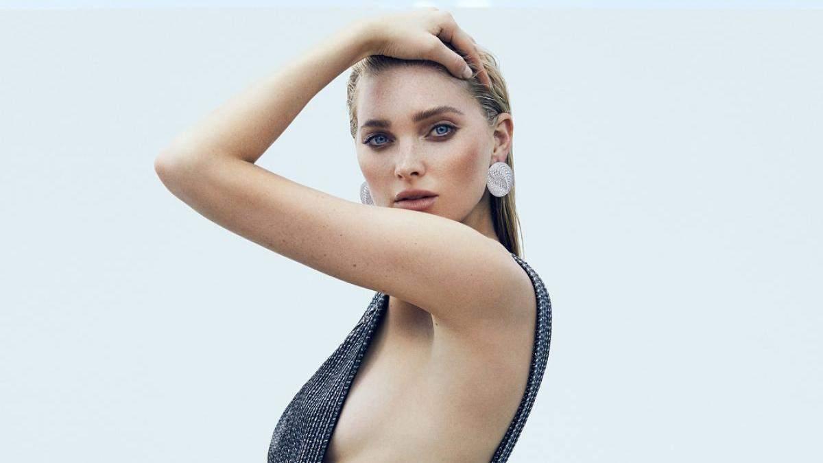 Ельза Госк для Elle US