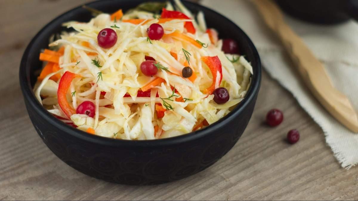 Салати на зиму з капусти: рецепти приготування салатів з капусти на зиму