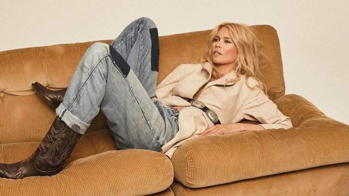 Клаудія Шиффер для Vogue Paris