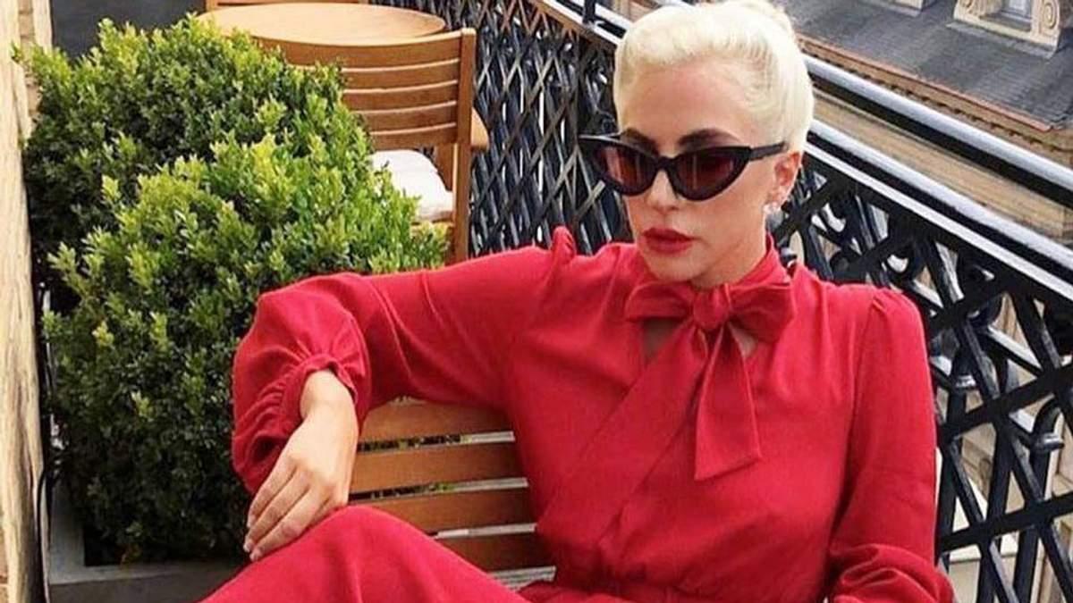 Леди Гага в Париже
