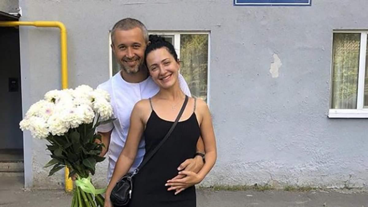 Сергей Бабкин с женой Снежаной