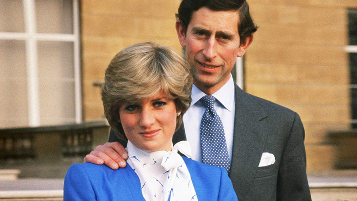 Прицнеса Диана и принц Чарльз