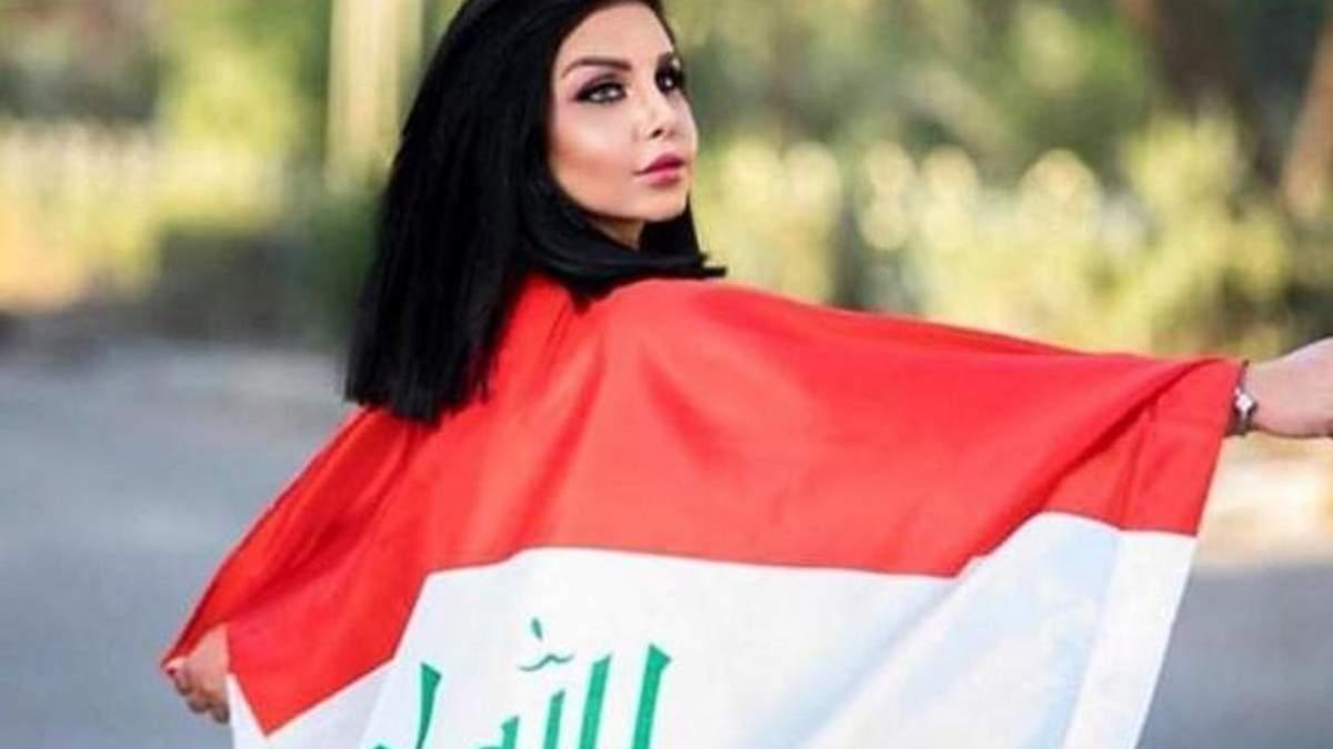 В Ираке убили Тару Фарес - Мисс Багдад 2015: фото и видео 18+