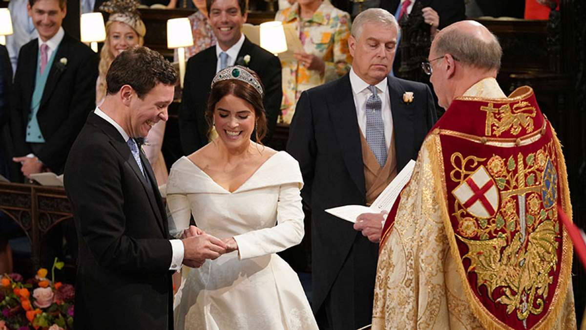 Свадьба принцессы Евгении и Джека Бруксбенка: фото