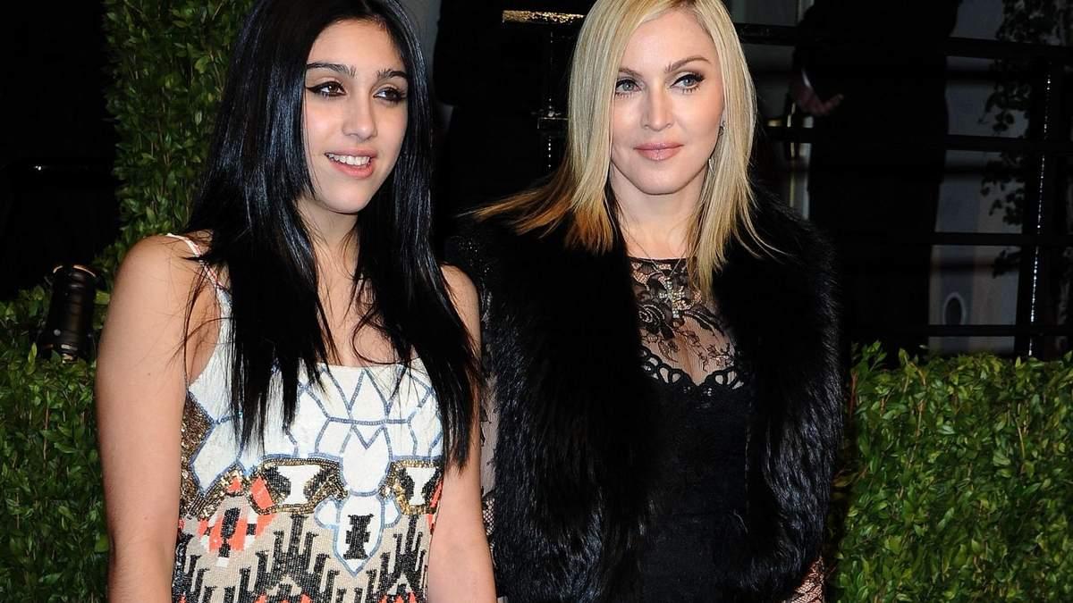 Мадонна з дочкою Лурдес