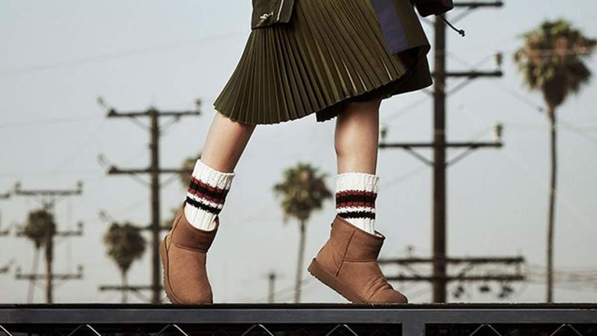 Відомий бренд UGG випустив нову модель зимових чобіт: стильні фото
