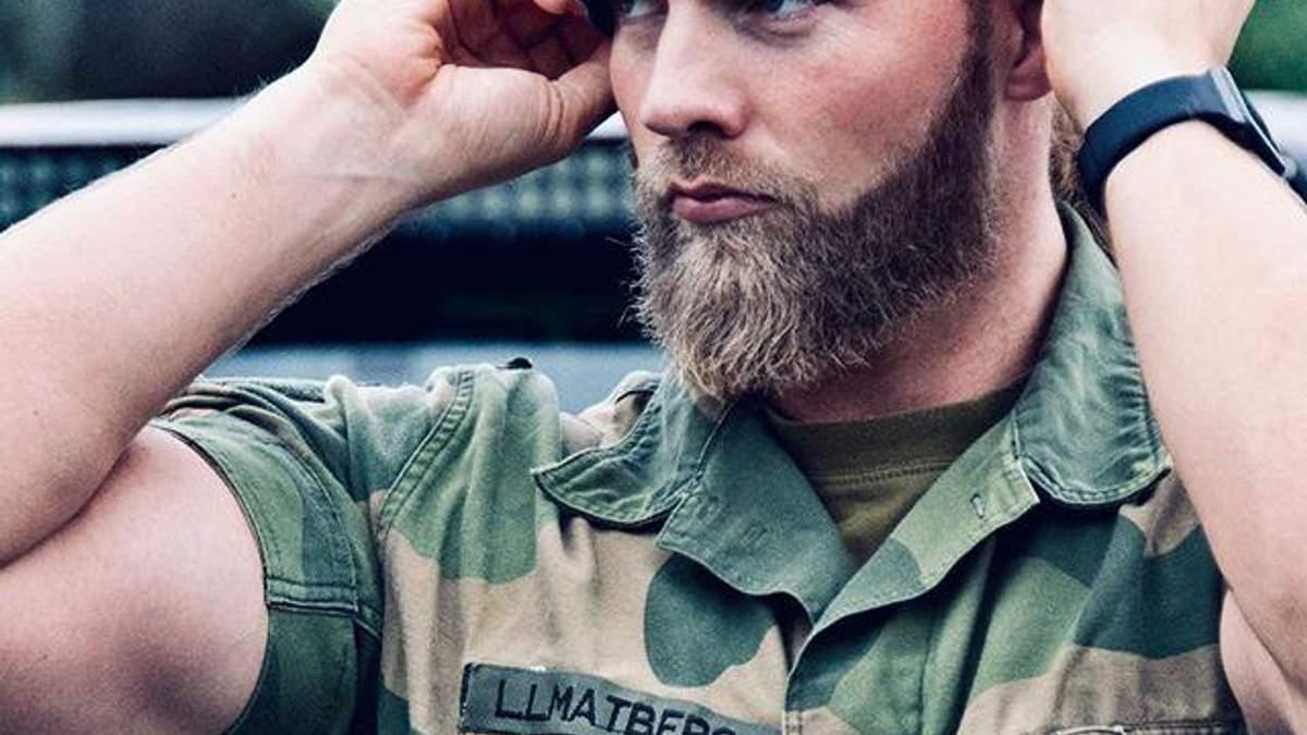Лейтенант Королівського флоту Норвегії Лассе Матберг