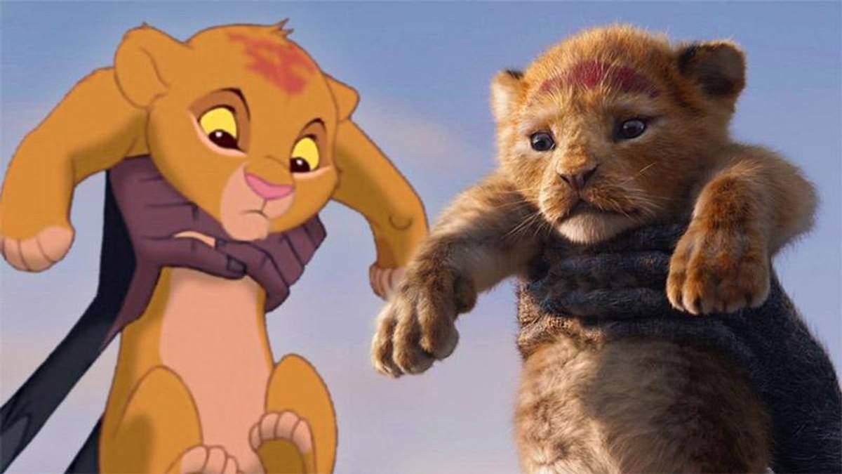 """Наскільки рімейк до """"Король Лев"""" схожий з легендарним мультфільмом: яскраве порівняння"""