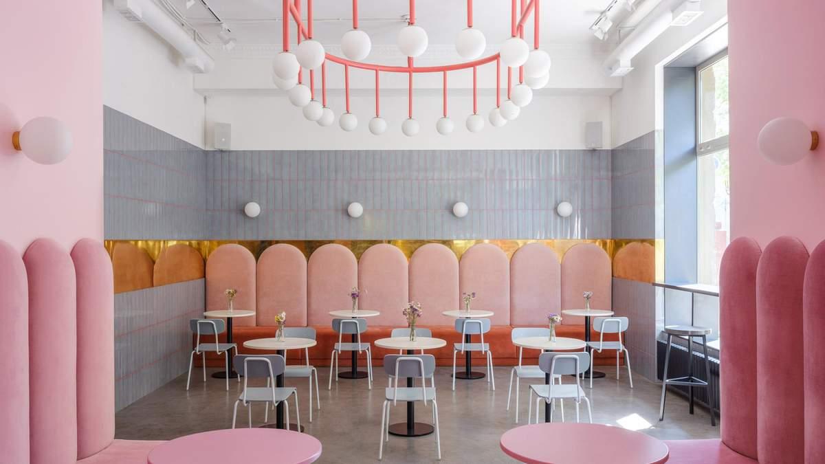 Интерьер кафе-пекарни Breadway в Одессе