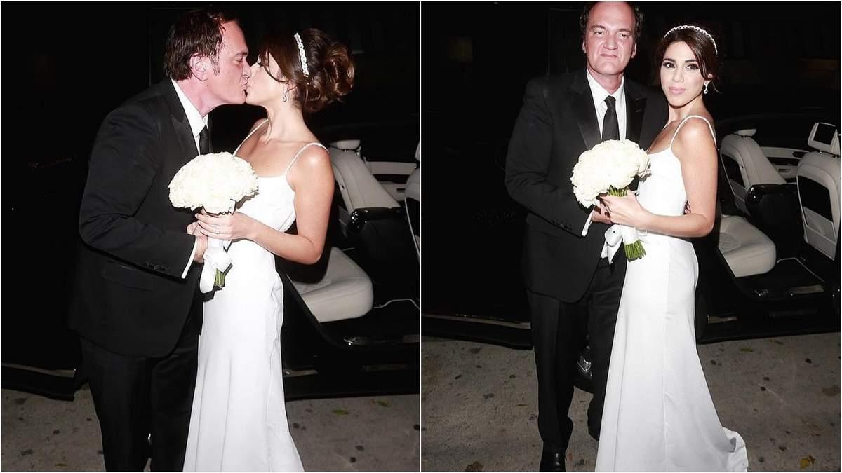 55-річний режисер Квентін Тарантіно вперше одружився