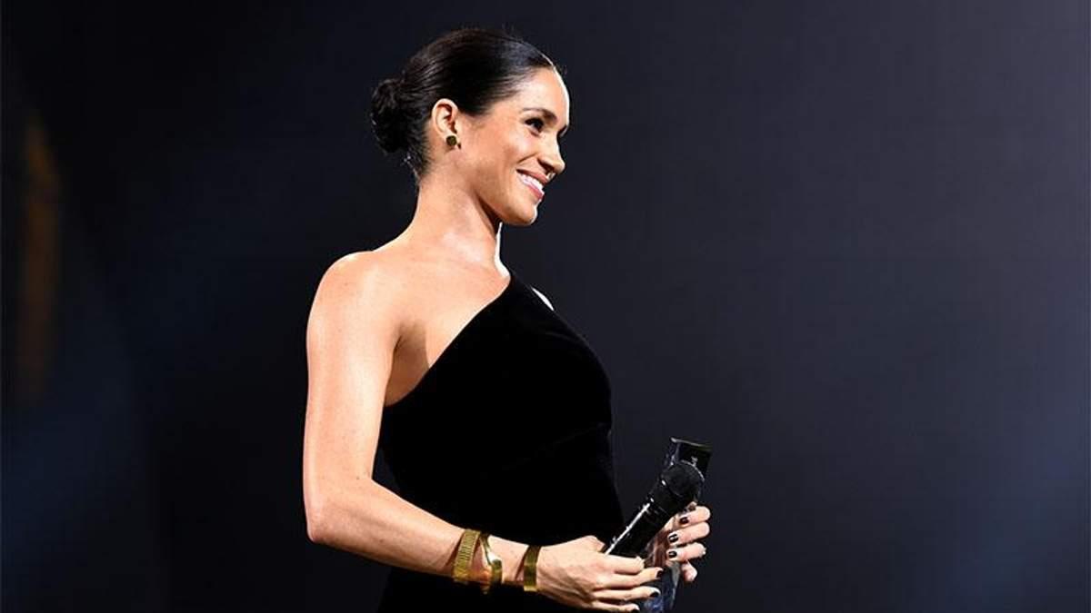 Меган Маркл на Fashion Awards-2018