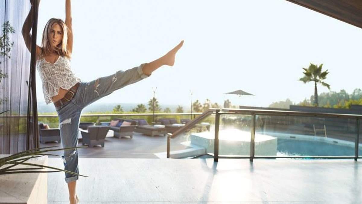 Як актрисі Дженніфер Еністон вдалося позбутися зайвої ваги, не обмежуючи себе у раціоні
