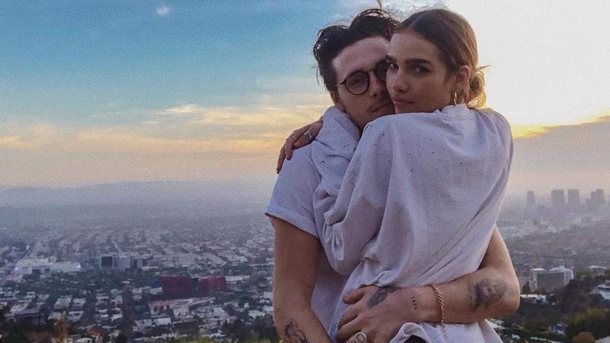 Нове кохання: Бруклін Бекхем показав свою дівчину – фото