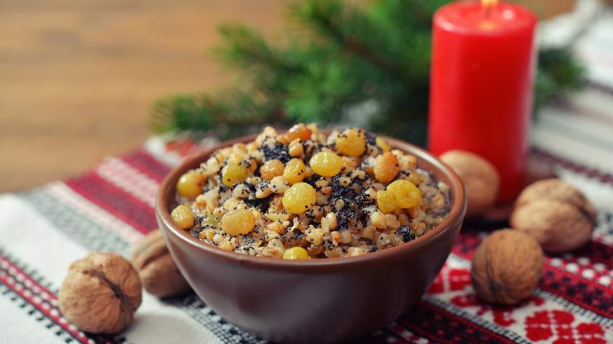 Кутья на Рождество Христово – рецепты кутьи регионов Украины