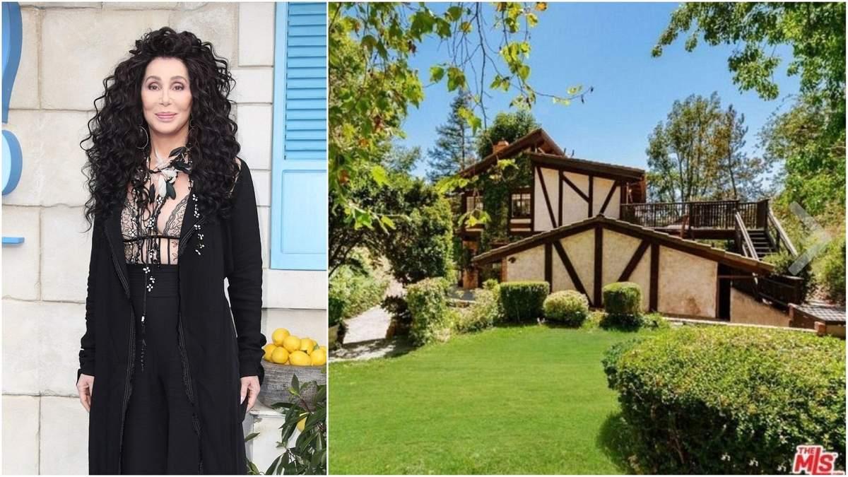 Певица Шер продает особняк в Беверли-Хиллз себе в убыток: фото дома