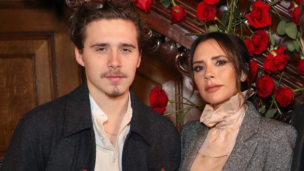 Вікторія Бекхем з сином Брукліном