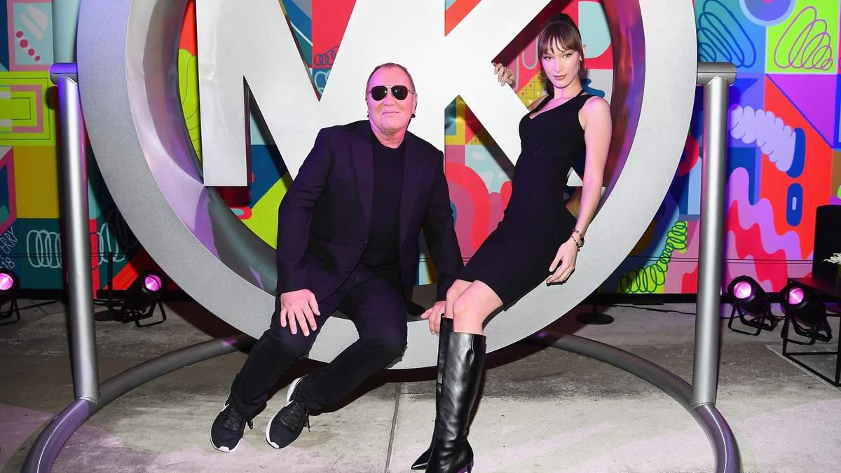 Белла Хадід  у статусі нового обличчя Michael Kors відвідала розкішну вечірку: яскраві фото