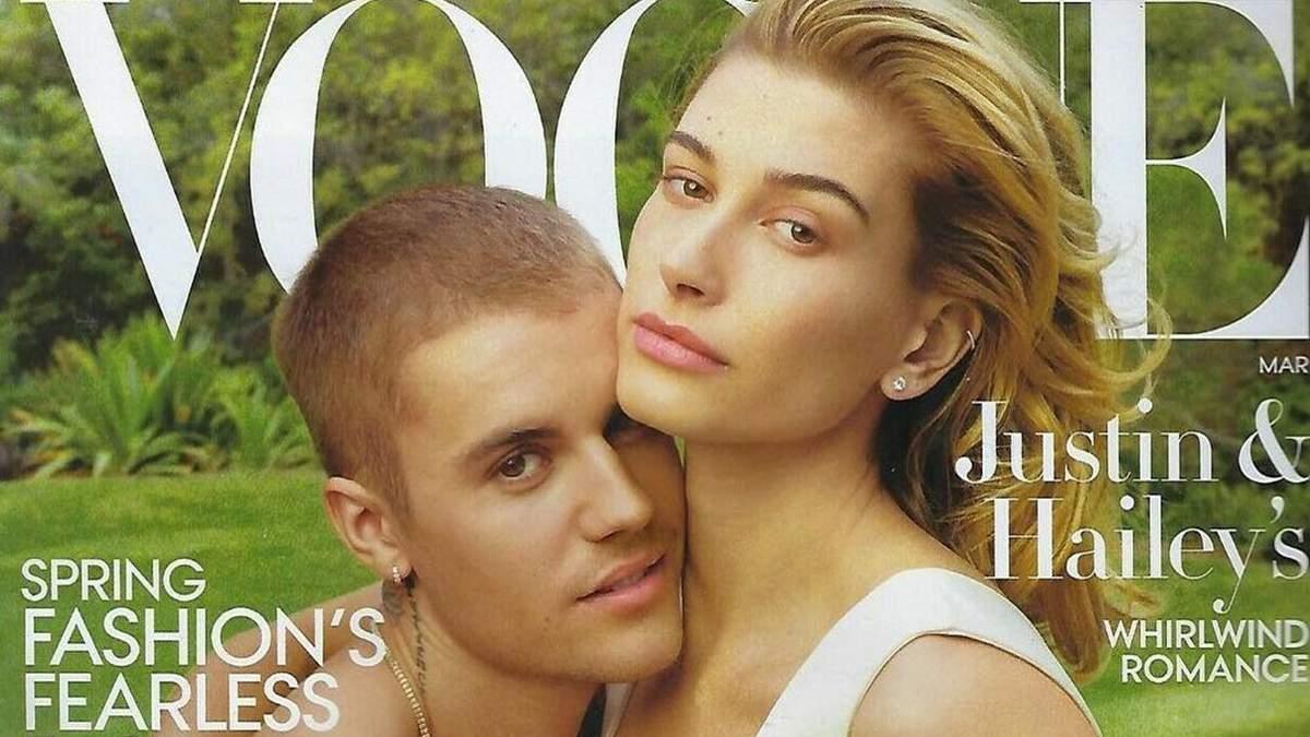 Джастін Бібер і Хейлі Болдуін для Vogue