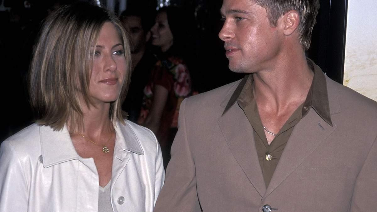 Бред Пітт і Дженніфер Еністон у 2001 році