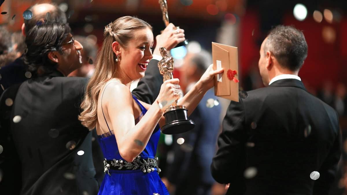 Актриса Брі Ларсон на премії Оскар-2016