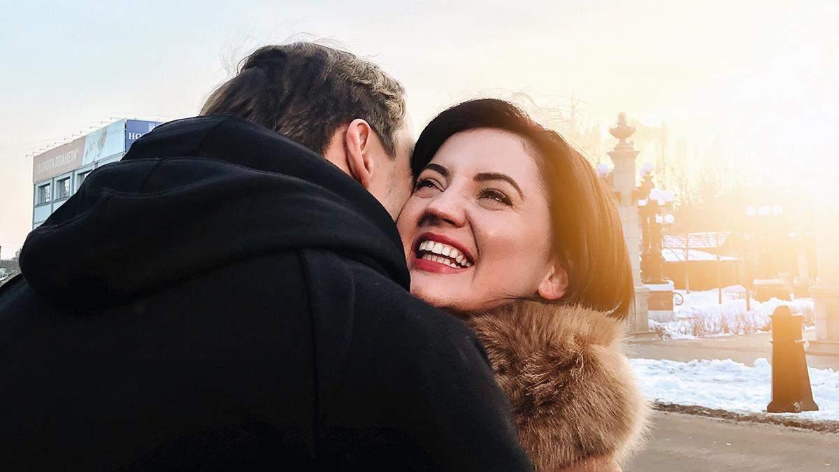 Оля Цибульська із чоловіком