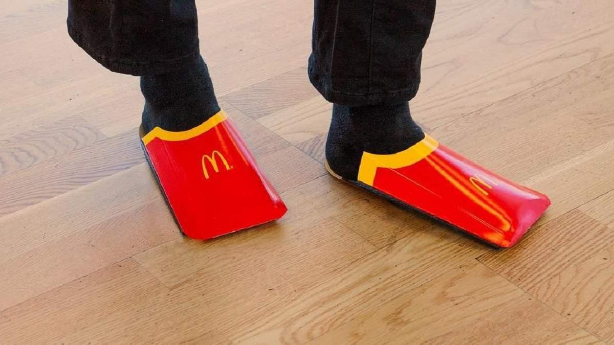 McDonald's висміяв взуття від Balenciaga