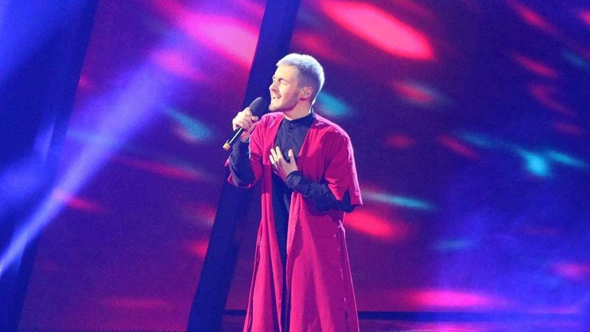 Певец KHAYAT удивил своим выступлением на Нацотборе