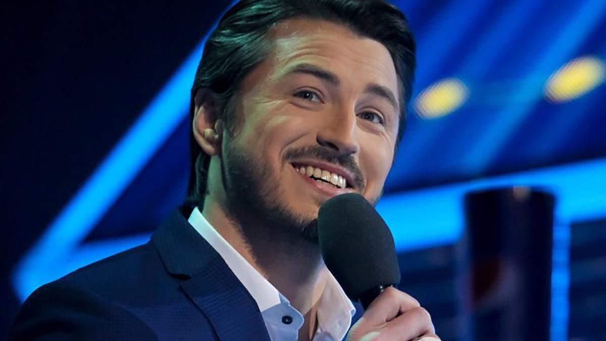 Сергей Притула на Национальном отборе на Евровидение-2019