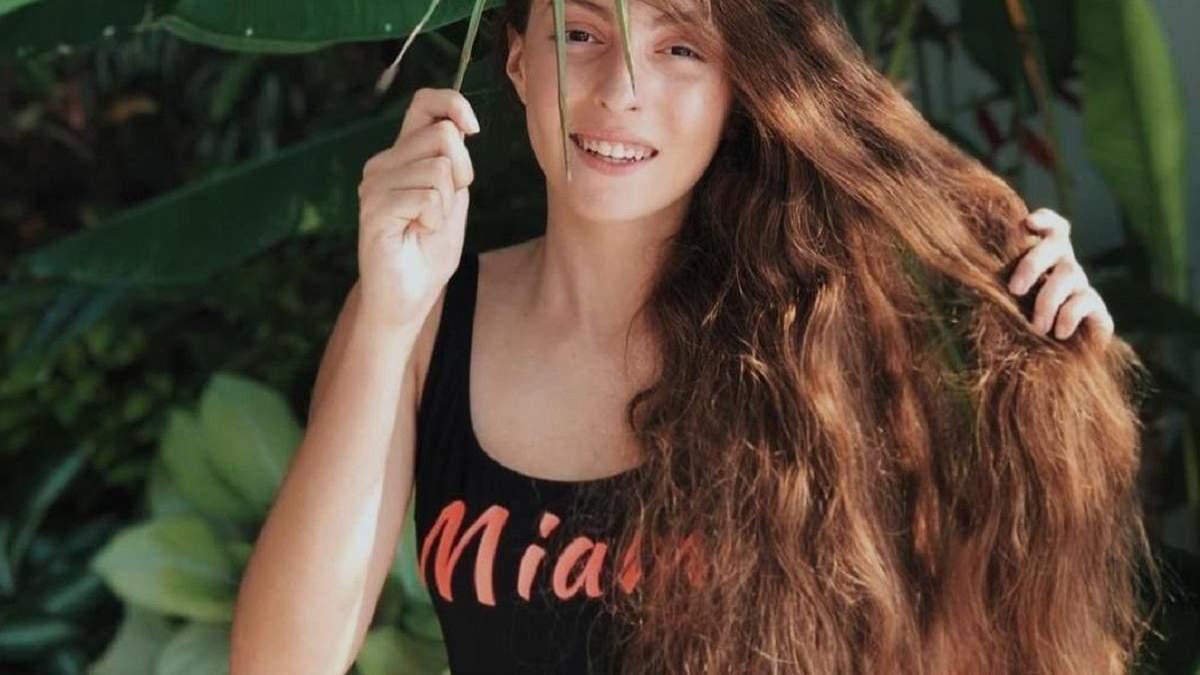 Дочка Оли Поляковой Мария