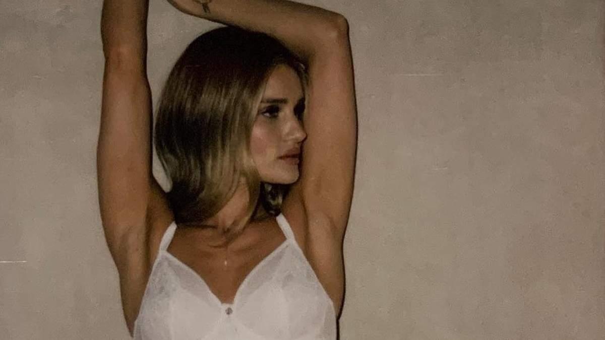 Розі Хантінгтон-Уайтлі знялася в сексуальній кампанії для білизняного бренду