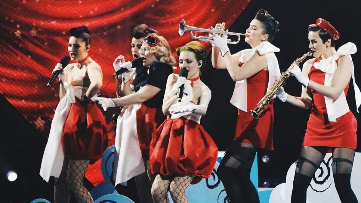 Freedom-jazz в финале Нацотбора Евровидения-2019