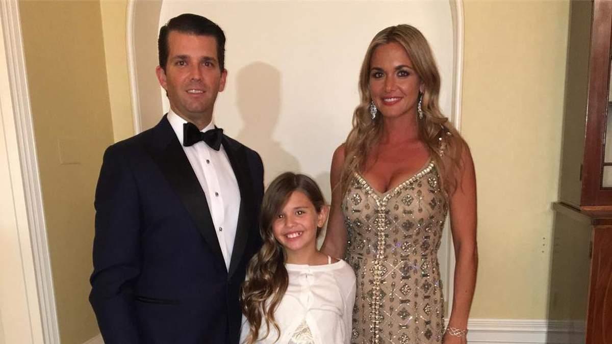 Дональд Трамп-младший развелся с женой Ванессой Хейдон