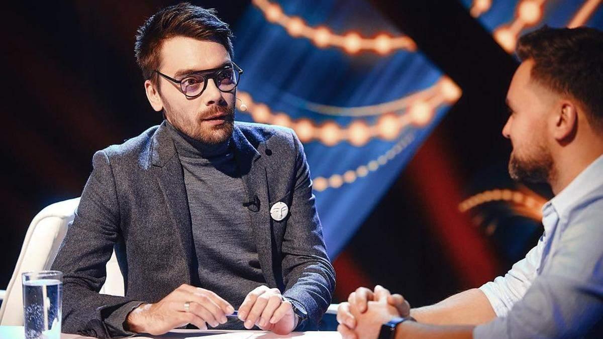 Евгений Филатов на Нацотбора на Евровидение-2019