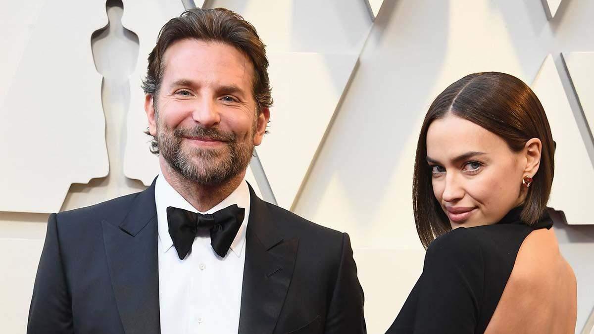 В роскошном наряде и с улыбкой: Брэдли Купер и Ирина Шейк засветились на Оскар-2019