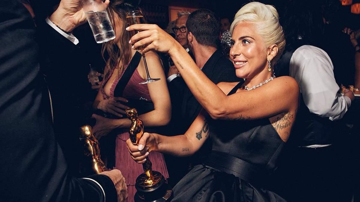 Леди Гага на вечеринке После Оскара-2019